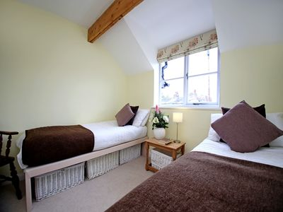 Second bedroom can be made up with twin beds or a kingsize