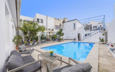 Photo for Villa Nacho; Large Private Pool, Walk to Beach, WiFi, Car Not Required