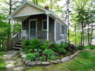 Photo for Cozy, Charming Waterfront Cottage, Quiet with Superb Views of the Penobscot Bay
