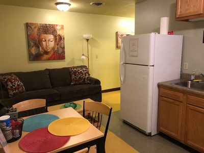 Photo for Cozy Downtown Apartment | TV | Walk Everywhere!!!