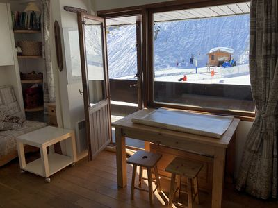Photo for Studio cabin ideally located on the slopes, south, Sunday to Sunday