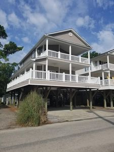 Photo for Large 4br/3bath house on stilts located in ocean lake campground. Unit 141c