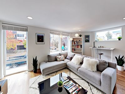 Photo for Contemporary 3BR Townhome w/ Rainer Views from Rooftop Deck