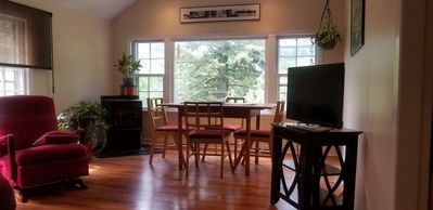 Photo for Light filled, beautiful designer space just off downtown Wolfville, NS.