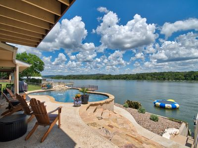 Photo for Llano Vista - New Bunk-Game Room, Pool, Fire Pit, Canoe, Kayak, Pool Table, W