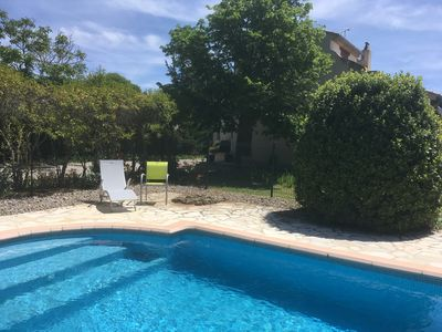 Photo for Secluded 5* rated villa with private heated pool and full air conditioning