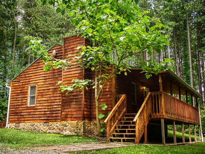 Photo for Cabins close to the New River Gorge at a good price