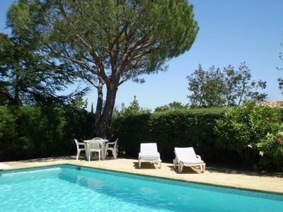 Photo for Gulf Of StTropez, Beauvallon Villa 8pers max with Pisc And Garden