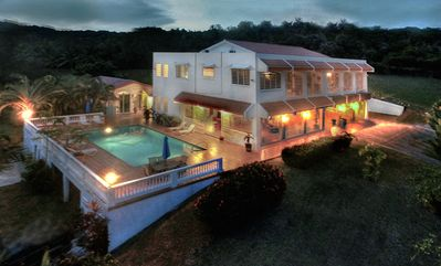Photo for VISTA LINDA Gated Estate Spectacular Carribean Views Privacy Close to Beaches