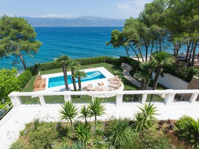 Photo for Fabulous ultra luxury villa with direct sea access