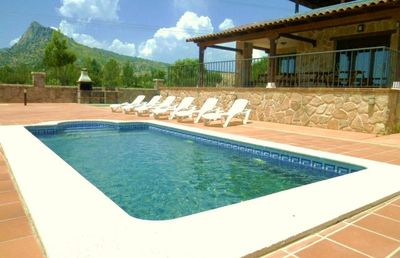 Photo for Rural house (full rental) Chalet Las Jaras for 12 people