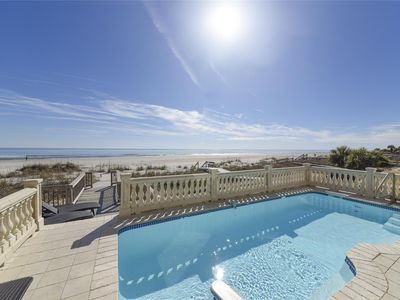 Photo for Oceanfront w/ Large Private Pool, Newly Renovated Kitchen, Great Location!