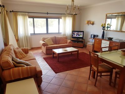 Photo for Family Apartment with Pool, 5 minutes from beach