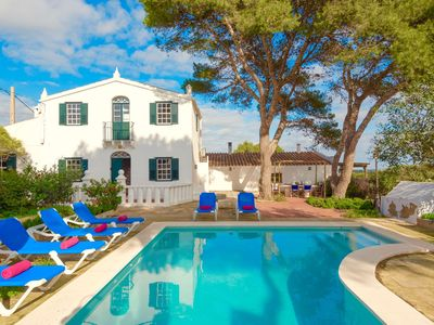 Photo for Sweet and welcoming villa with 3 bedrooms and private pool in lovely village