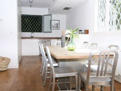 antibes villa rental kitchen area - Maison Moderne Antibes