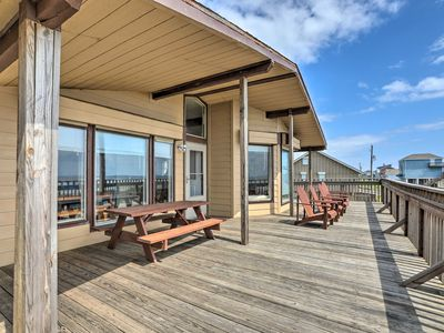 Photo for NEW! Galveston Home w/Deck & Grill, Steps to Beach