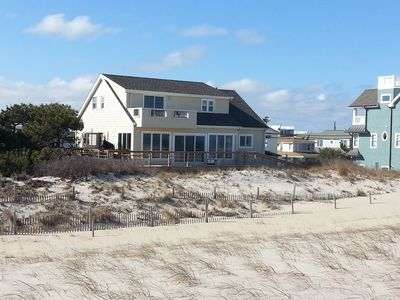 Photo for Oceanfront Brant Beach 75 feet on the water with Amazing Panoramic Ocean View
