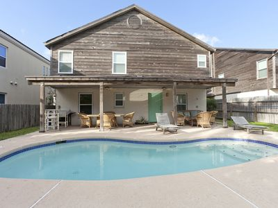 Photo for Spacious, Two-story House with Private Heated Pool! 5 Minute Walk to the Beach!