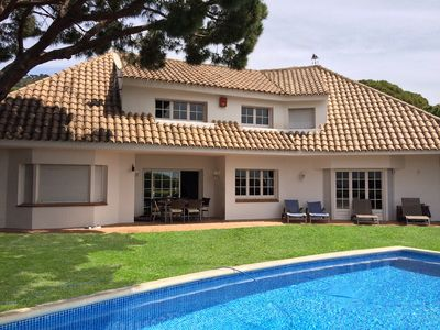Photo for CAMI DE CABRERA - SPACIOUS AND COZY - Fantastic house, private  pool and BBQ zone- 20 minutes from Barcelona