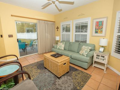 Photo for SPC 9122 - Beautiful Ground Floor 2 BR - easy walk to the pool or beach - sleeps 7