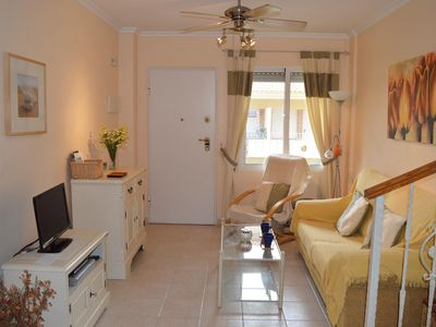 Photo for Lovely 3 Bed Duplex Apartment - Albatros Complex, Los Alcazares