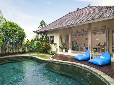 Photo for Charming 2 Bedroom Villa Unique Balinese Style 1 KM from Beach in Seminyak