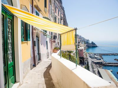 Photo for Beautiful house located in the cdenter of Amalfi and with sea view