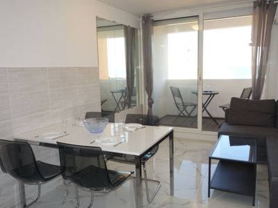 Photo for One bedroom Apartment, sleeps 4 in Le Barcarès with Air Con and WiFi