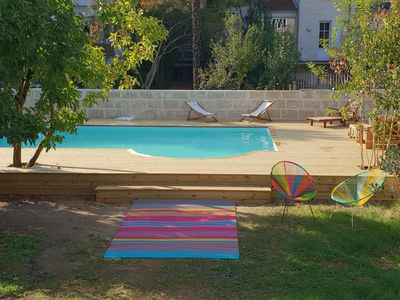 Photo for Large Family House Bordeaux Center - Heated Pool