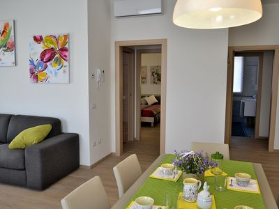 Photo for Two bedroom apartment and two bathrooms - Ground floor