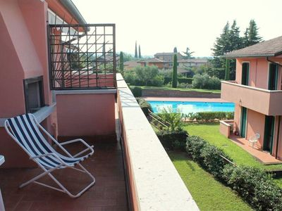 Photo for Residence with swimming pool, at only 500 m from the city centre of Lazise