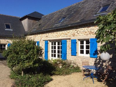 Photo for Renovated farmhouse in Finistère
