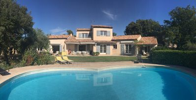 Photo for Charming Provencal Villa; oasis of calm