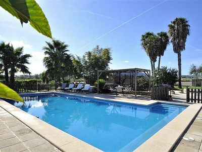 Photo for SON VANRELL -Rustic house for 5 people in Montuiri. Satellite TV. Private pool. Majorca -00018- - Free Wifi