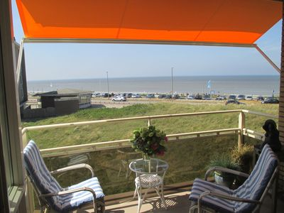 Photo for Wonderful sea view apartment, 150 m from beach