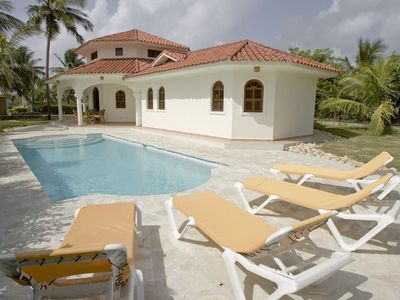 Photo for Villa with oceanfew in Cabarete, 45m to the beach,