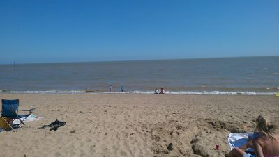 Photo for Three bedroom flat with Sea View and 20 metres from the beach