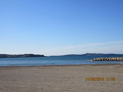 Photo for Apart. T2 Six-Fours / Sanary ideally located, beach and shops on foot