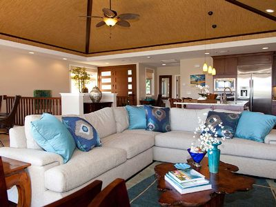 Photo for Fascinating Refinement - Spacious, beautifully appointed Hawaiian retreat.