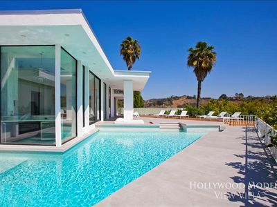 Photo for Hollywood Modern View Villa - 3 Bedroom Villa w/Pool!