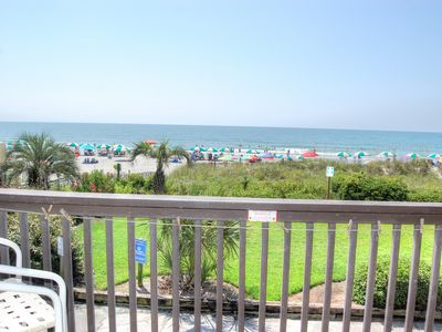 Gorgeous direct oceanfront condo with washer/dryer in unit for convenience!