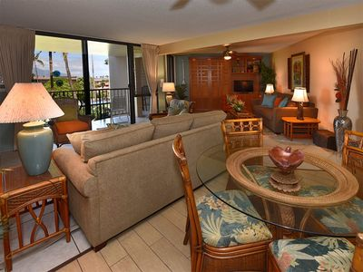 Photo for Sunny Kihei Living! Full Kitchen, Lanai, WiFi, AC, TVs+Laundry–Kamaole Sands 10314