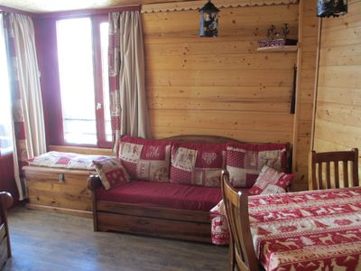Photo for APARTMENT 2 rooms 3*, very confortable, in Tignes Val Claret