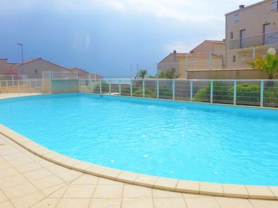 Photo for 2 bedroom Villa, sleeps 4 with Pool, WiFi and Walk to Beach & Shops