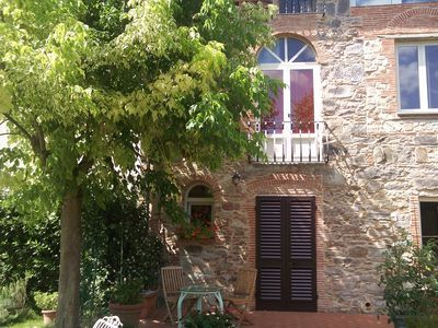Photo for Pretty and romantic Tuscan country house in Lucca, ideal garden for dinners and relaxation