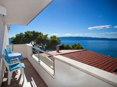 Photo for Studio flat near beach Promajna, Makarska (AS-2605-a)