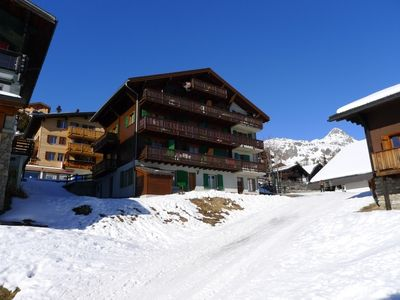 Photo for Bettmeralp Apartment, Sleeps 5 with WiFi