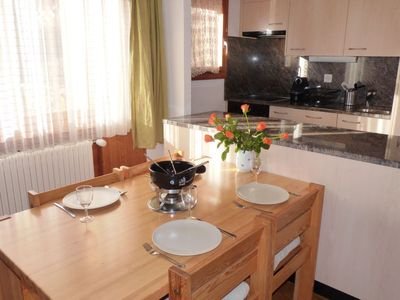 Photo for Apartment Châtillon B in Ovronnaz - 4 persons, 2 bedrooms