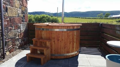 Photo for Luxury 4*Cottages with Private Use Hot Tub in beautiful Perthshire Valley