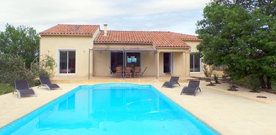 Photo for SOUTH ARDECHE - CONTEMPORARY VILLA WITH PRIVATE POOL